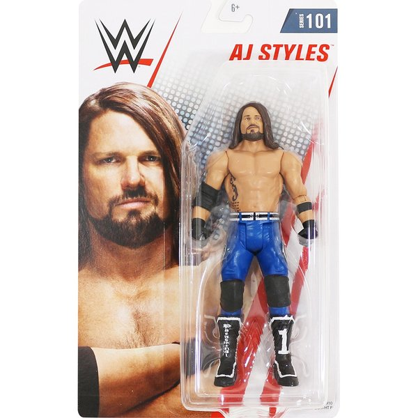 WWE Mattel Basic101 AJ Styles(AJスタイルズ)|bdrop