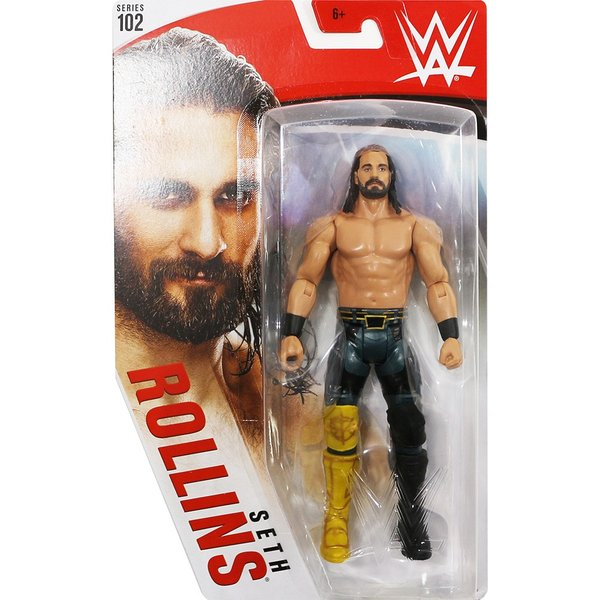 WWE Mattel Basic102 Seth Rollins(セス・ローリンズ)|bdrop