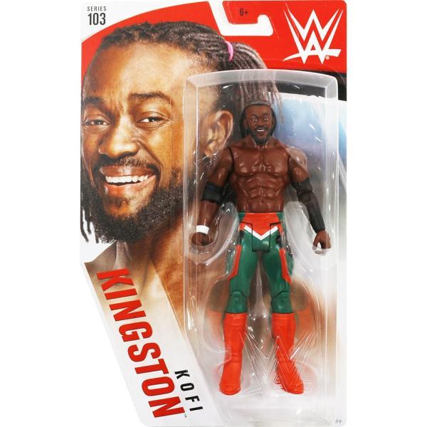 WWE Mattel Basic103 Kofi Kingston(コフィ・キングストン)|bdrop