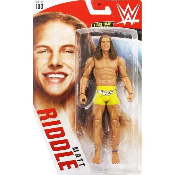WWE Mattel Basic103 Matt Riddle(マット・リドル)|bdrop