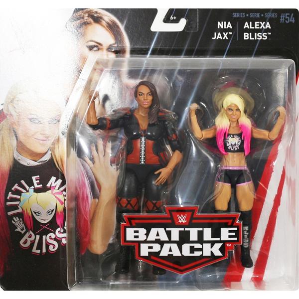 WWE BATTLE PACKS 54 Alexa Bliss & Nia Jax(アレクサ・ブリス/ナイア・ジャックス) fig180606|bdrop