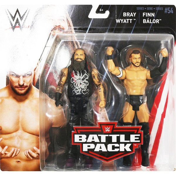 WWE BATTLE PACKS 54 Finn Balor & Bray Wyatt(フィン・ベイラー/ブレイ・ワイアット) fig180606|bdrop