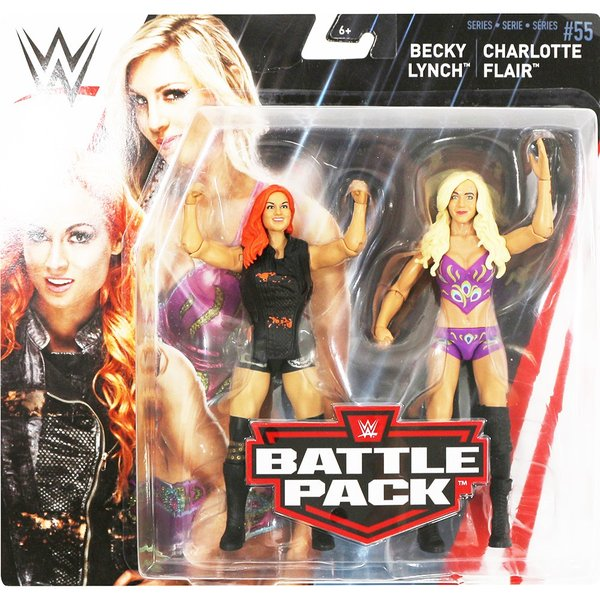 WWE BATTLE PACKS 55 Charlotte Flair & Becky Lynch(シャーロット・フレアー/ベッキー・リンチ)|bdrop