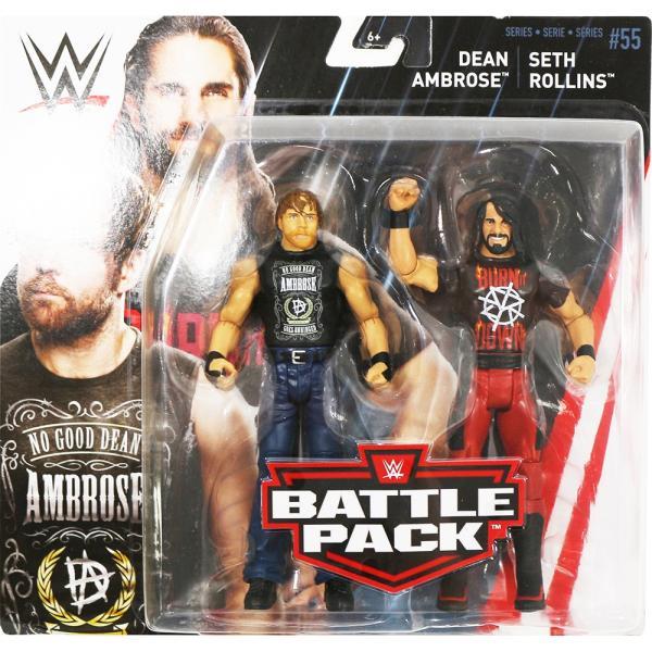 WWE BATTLE PACKS 55 Seth Rollins & Dean Ambrose(セス・ローリンズ/ディーン・アンブローズ)|bdrop