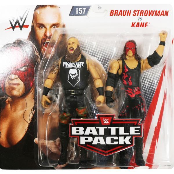 WWE BATTLE PACKS 57 Braun Strowman & Kane(ブラウン・ストローマン/ケイン)|bdrop