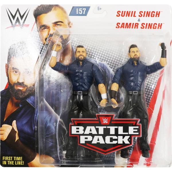 WWE BATTLE PACKS 57 Singh Brothers(シン・ブラザーズ:サミル・シン/スニル・シン)|bdrop
