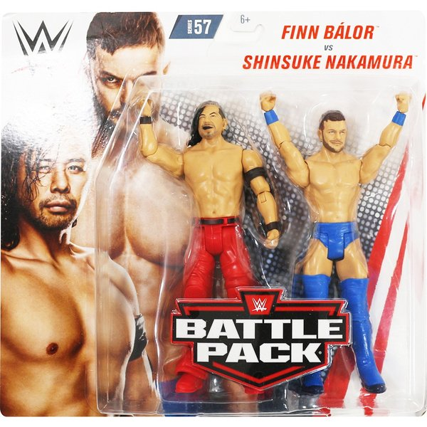 WWE BATTLE PACKS 57 Shinsuke Nakamura & Finn Balor(中邑真輔/フィン・ベイラー)|bdrop