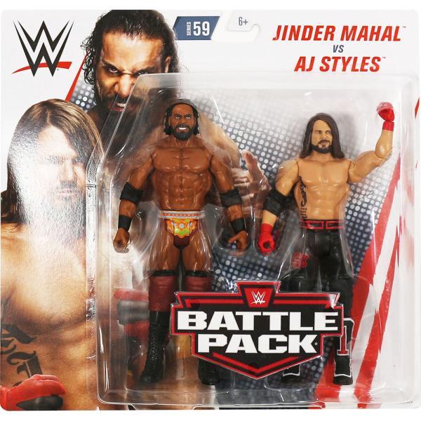 WWE BATTLE PACKS 59 AJ Styles & Jinder Mahal(AJスタイルズ/ジンダー・マハル)ン・ベンジャミン/チャド・ゲーブル)|bdrop
