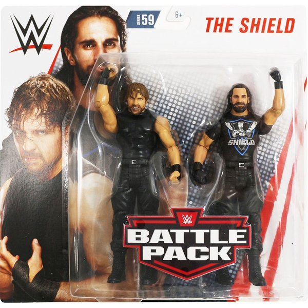 WWE BATTLE PACKS 59 Dean Ambrose & Seth Rollins(ディーン・アンブローズ/セス・ローリンズ)|bdrop
