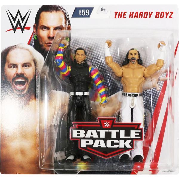 WWE BATTLE PACKS 59 Hardy Boyz(ハーディ・ボーイズ) bdrop