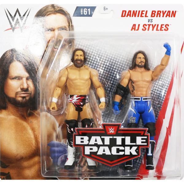 WWE BATTLE PACKS 61 AJ Styles & Daniel Bryan(AJスタイルズ/ダニエル・ブライアン)|bdrop