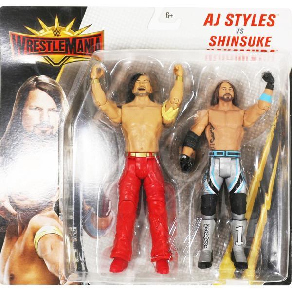 WWE WrestleMania 35 AJ Styles & Shinsuke Nakamura(AJスタイルズ/中邑真輔)|bdrop