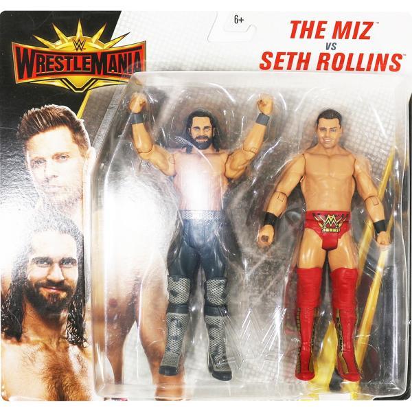 WWE WrestleMania 35 Seth Rollins & The Miz(セス・ローリンズ/ザ・ミズ)|bdrop