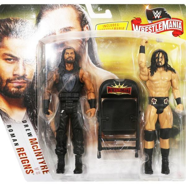 WWE WrestleMania 36 Roman Reigns & Drew McIntyre(ローマン・レインズ/ドリュー・マッキンタイア)|bdrop
