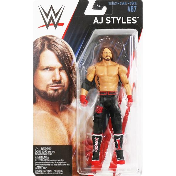 WWE Mattel Basic87 AJ Styles(AJスタイルズ)|bdrop