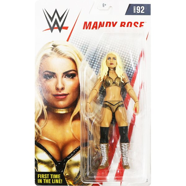 WWE Mattel Basic92 Mandy Rose(マンディ・ローズ)|bdrop
