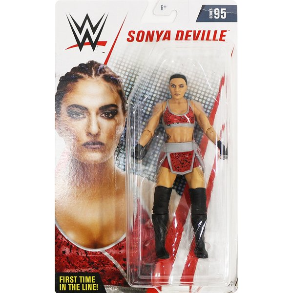 WWE Mattel Basic95 Sonya Deville(ソーニャ・デヴィル)|bdrop