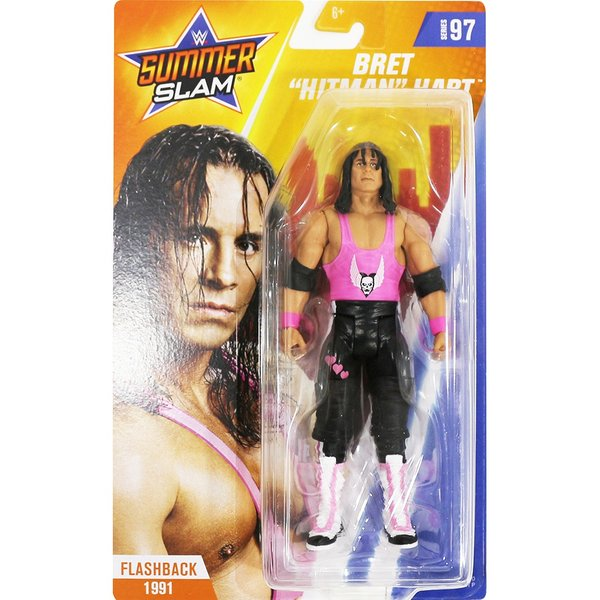 WWE Mattel Basic97 Bret Hart(ブレット・ハート)|bdrop