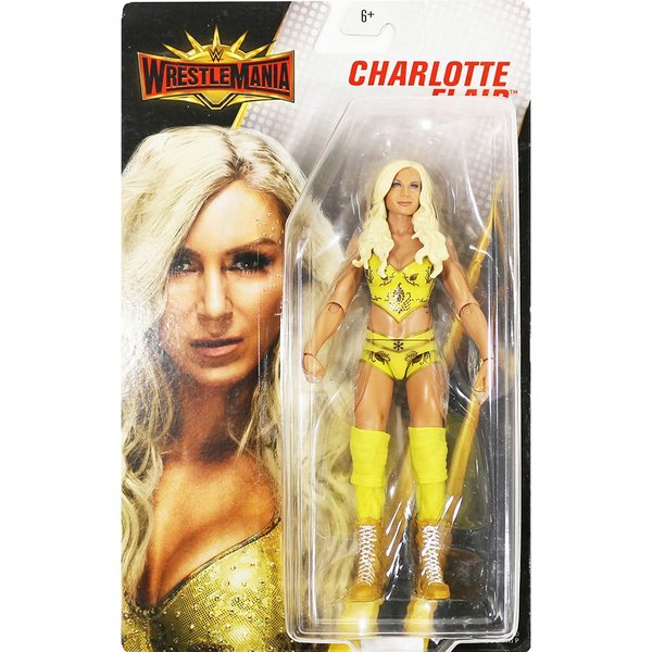 WWE Mattel WrestleMania 35 Charlotte Flair(シャーロット・フレアー)|bdrop