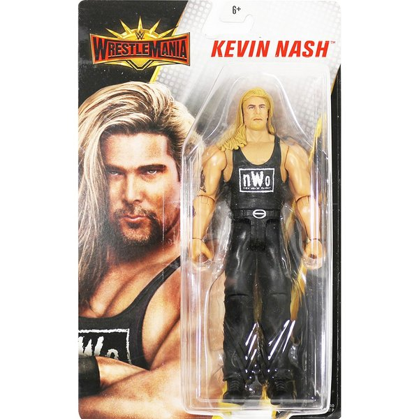WWE Mattel WrestleMania 35 Kevin Nash(ケビン・ナッシュ)|bdrop