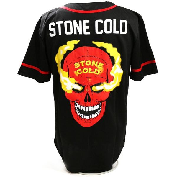 WWE Steve Austin(スティーブ・オースチン) 3:16 ブラック ベースボールジャージ|bdrop|04