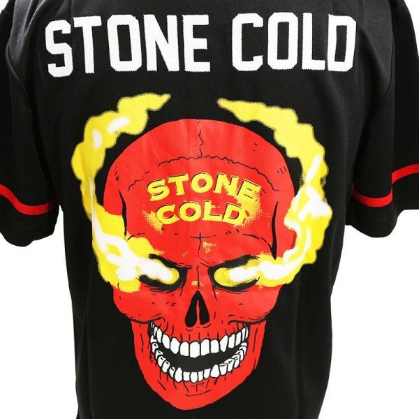WWE Steve Austin(スティーブ・オースチン) 3:16 ブラック ベースボールジャージ|bdrop|05