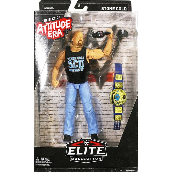 WWE Elite Stone Cold Steve Austin(スティーブ・オースチン) WWE Best of Attitude Era Exclusive|bdrop