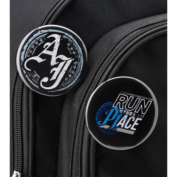 WWE AJ Styles(AJスタイルズ) Run The Place ビッグサイズ缶バッジ4個セット|bdrop|04