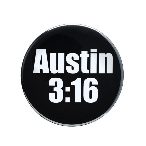 WWE Steve Austin(スティーブ・オースチン) Arrive Raise Hell Leave ビッグサイズ缶バッジ4個セット|bdrop|03