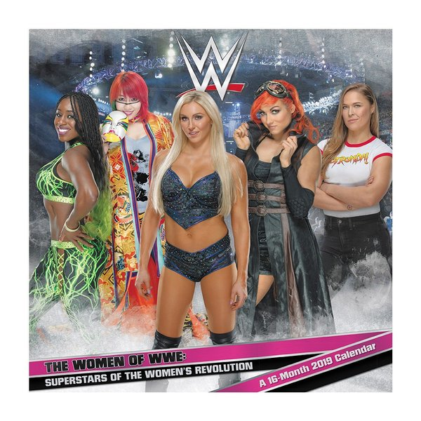 WWE Women of WWE 2019年壁掛けカレンダー|bdrop