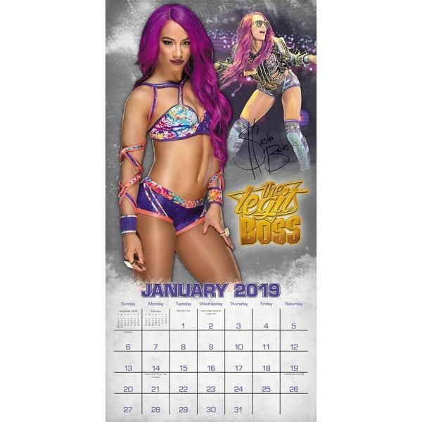 WWE Women of WWE 2019年壁掛けカレンダー|bdrop|03