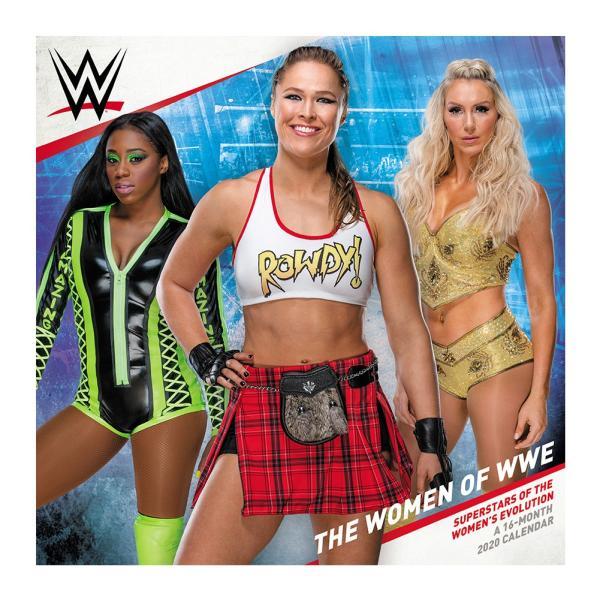 WWE Women of WWE 2020年壁掛けカレンダー|bdrop