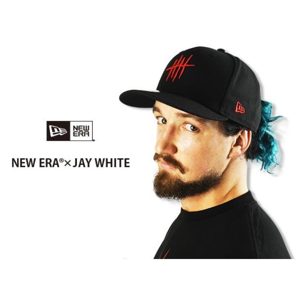 新日本プロレス NJPW NEW ERA × ジェイ・ホワイト 9FIFTY キャップ 帽子|bdrop|05