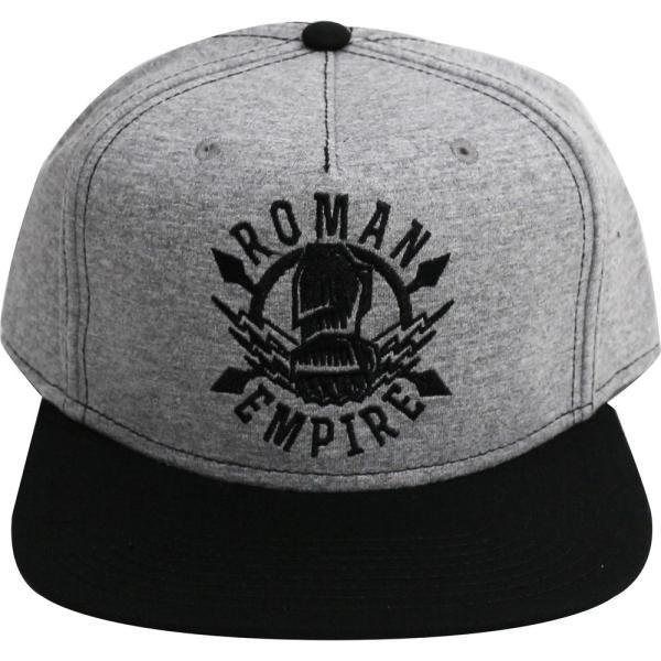 WWE Roman Reigns(ローマン・レインズ) FIST EMPIRE FLAT BILL スナップバックキャップ/帽子|bdrop