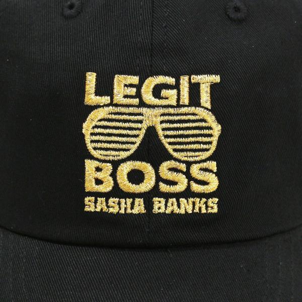 WWE Sasha Banks(サシャ・バンクス) SUNGLASSES DAD ベースボールキャップ/帽子|bdrop|02