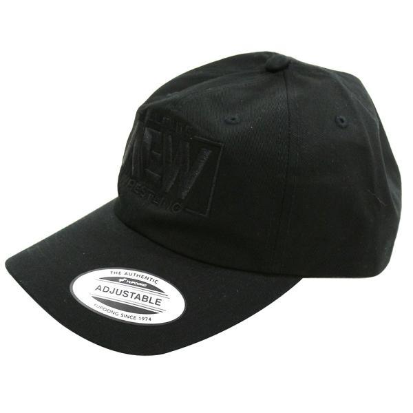AEW Black Logo ダッドハット 帽子|bdrop|02