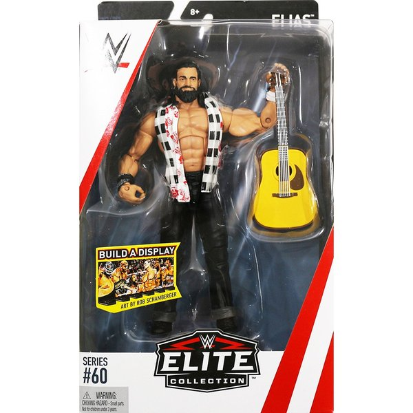 WWE Mattel Elite 60 Elias(イライアス)|bdrop