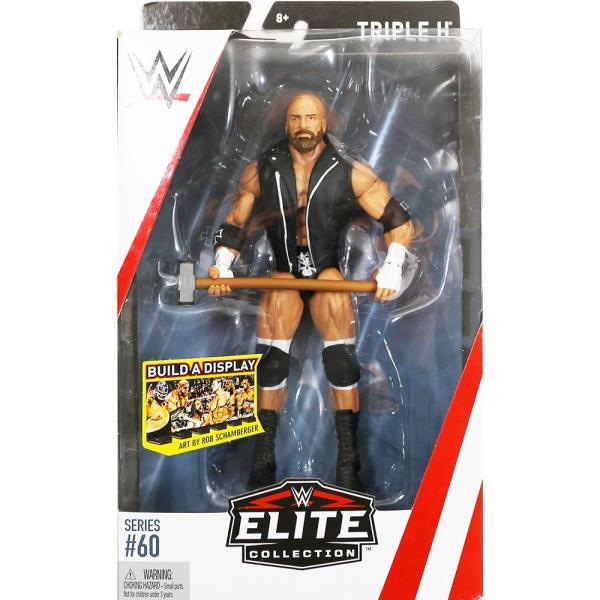 WWE Mattel Elite 60 Triple H (トリプルH)|bdrop