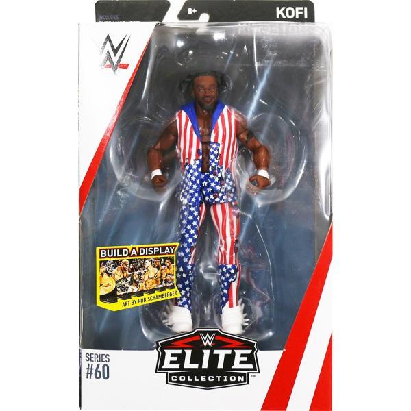 WWE Mattel Elite 60 Kofi Kingston(コフィ・キングストン)|bdrop