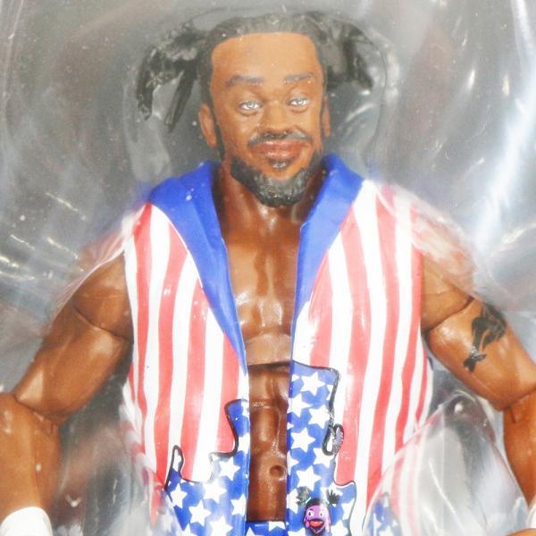 WWE Mattel Elite 60 Kofi Kingston(コフィ・キングストン)|bdrop|02