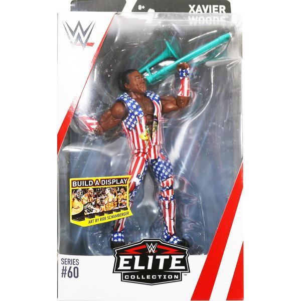 WWE Mattel Elite 60 Xavier Woods(エグザビア・ウッズ)|bdrop