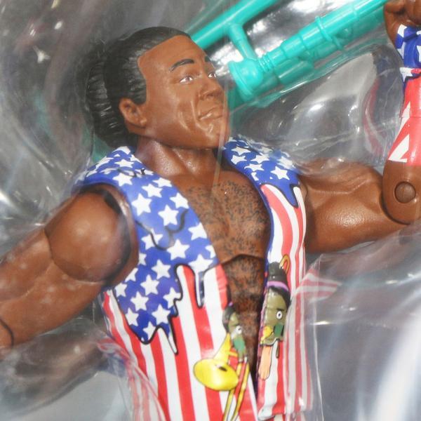 WWE Mattel Elite 60 Xavier Woods(エグザビア・ウッズ)|bdrop|02