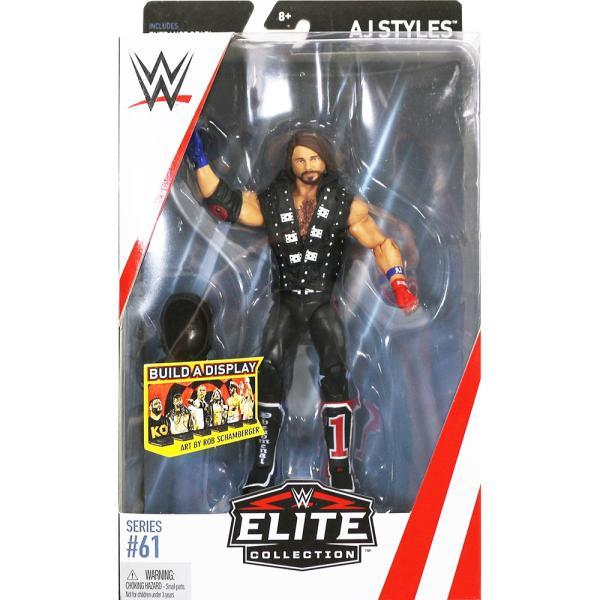 WWE Mattel Elite 61 AJ Styles(AJスタイルズ) bdrop