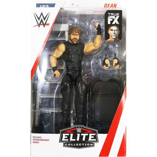 WWE Mattel Elite 63 Dean Ambrose(ディーン・アンブローズ)|bdrop