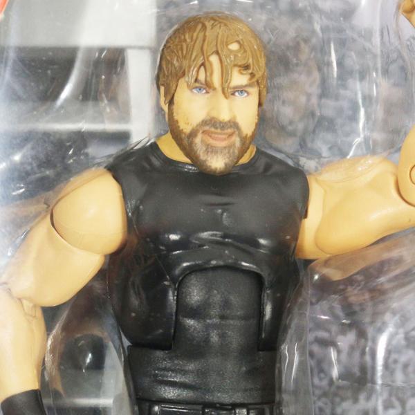 WWE Mattel Elite 63 Dean Ambrose(ディーン・アンブローズ)|bdrop|02