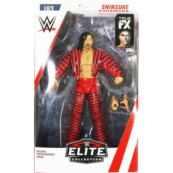 WWE Mattel Elite 63 Shinsuke Nakamura(中邑真輔)|bdrop