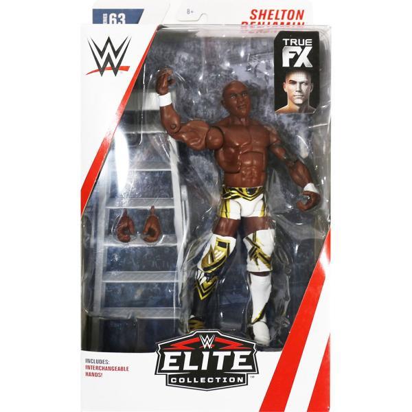 WWE Mattel Elite 63 Shelton Benjamin(シェルトン・ベンジャミン)|bdrop