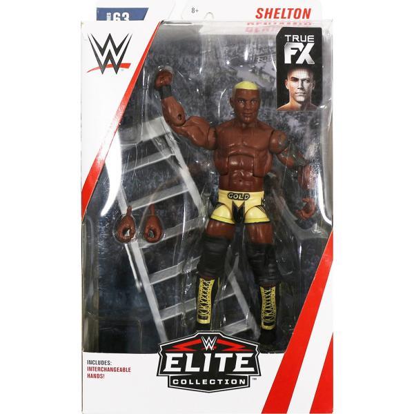 WWE Mattel Elite 63 Chase Variant Shelton Benjamin(シェルトン・ベンジャミン) Gold Standard|bdrop