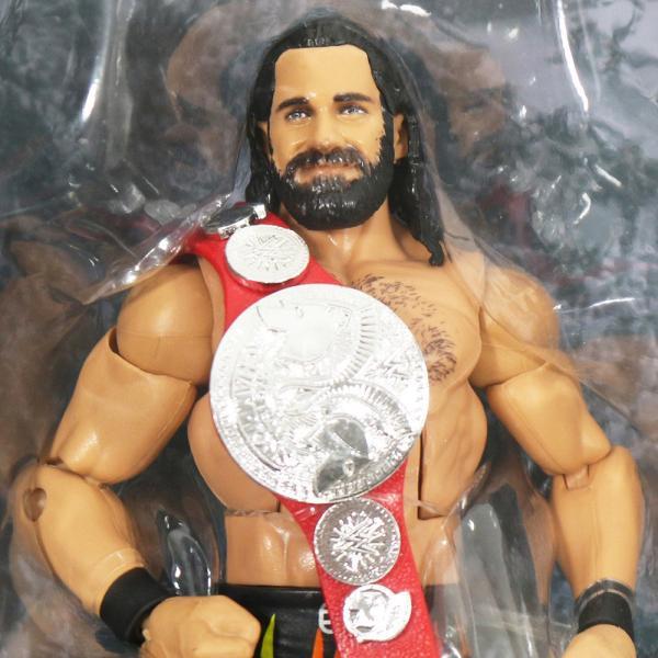 WWE Mattel Elite 64 Seth Rollins(セス・ローリンズ)|bdrop|02