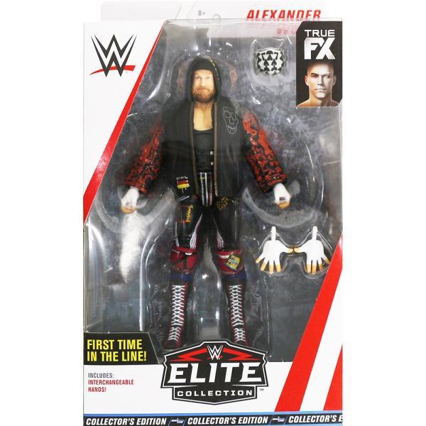 WWE Mattel Elite 66 Exclusive Alexander Wolfe(アレクサンダー・ウルフ) bdrop